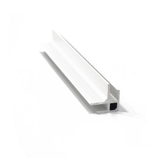 Aluco kulmalista valkoinen alumiini